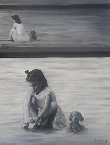 Commissioned Artwork Titled Little Ballerina