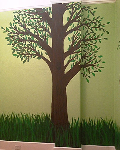 Nursery Mural Tree