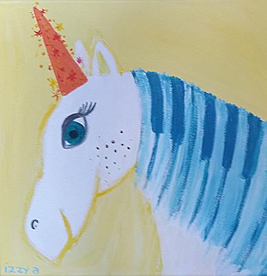 Commissioned Artwork Titled Unicorn