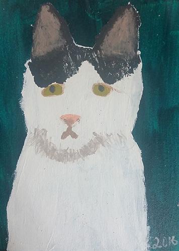 Student Art Cat